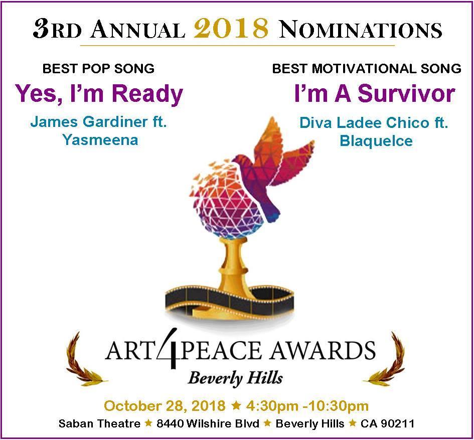 lucille-art 4 peace award event